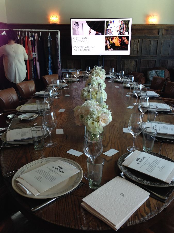 the outnet luncheon