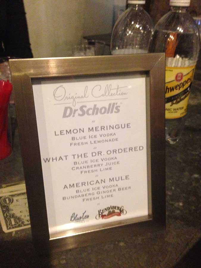 Dr. Scholl's event in NYC