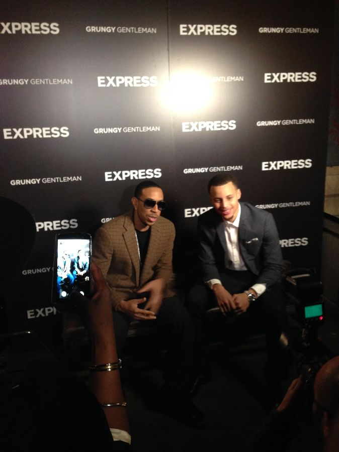 Ludacris and Stephen Curry