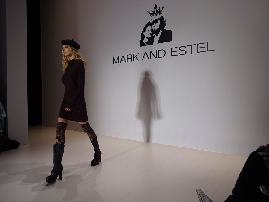 Mark and Estel New York fashion week