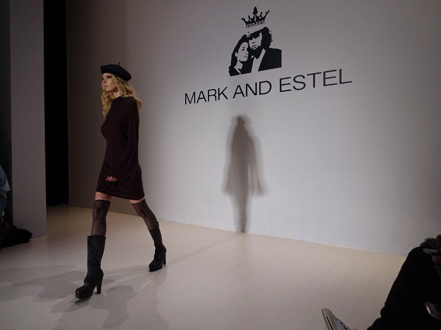 Mark and Estel New York fashion week