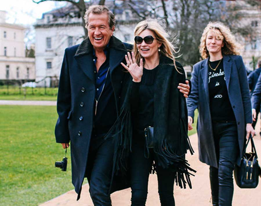 Shop The Look: Kate Moss at London Fashion Week