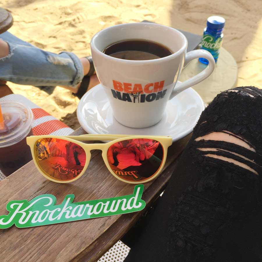 knockaround sunglasses, beach nation west hollywood, currently crushing, bwrpr