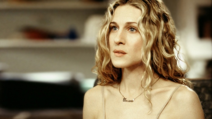 carrie bradshaw carrie necklace