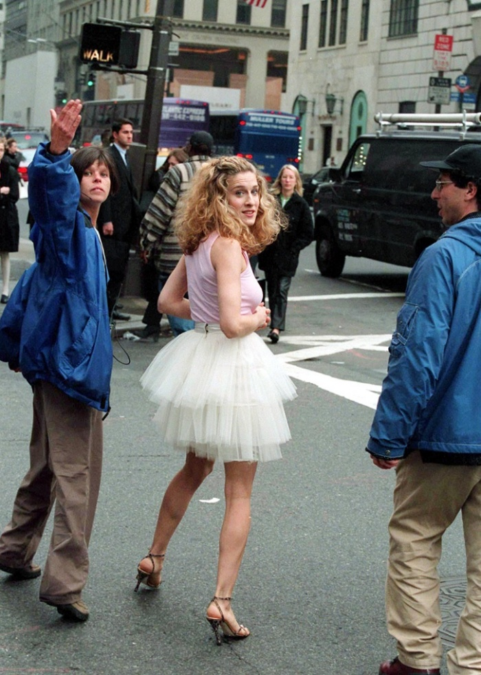 best carrie bradshaw outfits