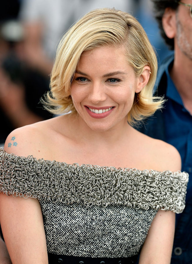 what to wear at cannes sienna miller