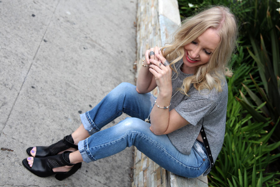 currently crushing, emu sandals, levis 501 ct, camp collection tee, pandora jewelry