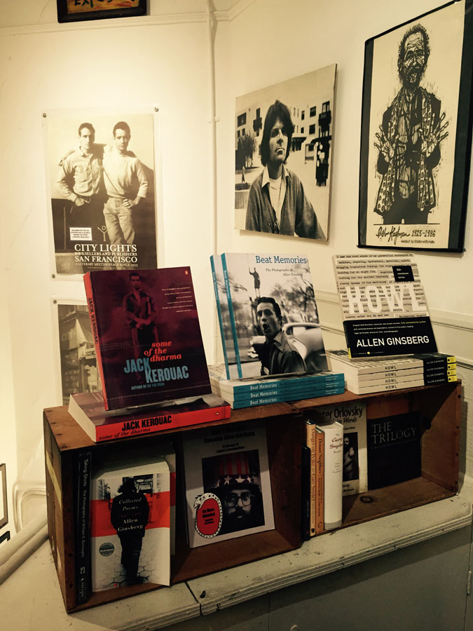 city lights bookstore san francisco, currently crushing, jack kerouac