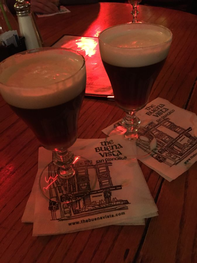 currently crushing the buena vista irish coffee san francisco