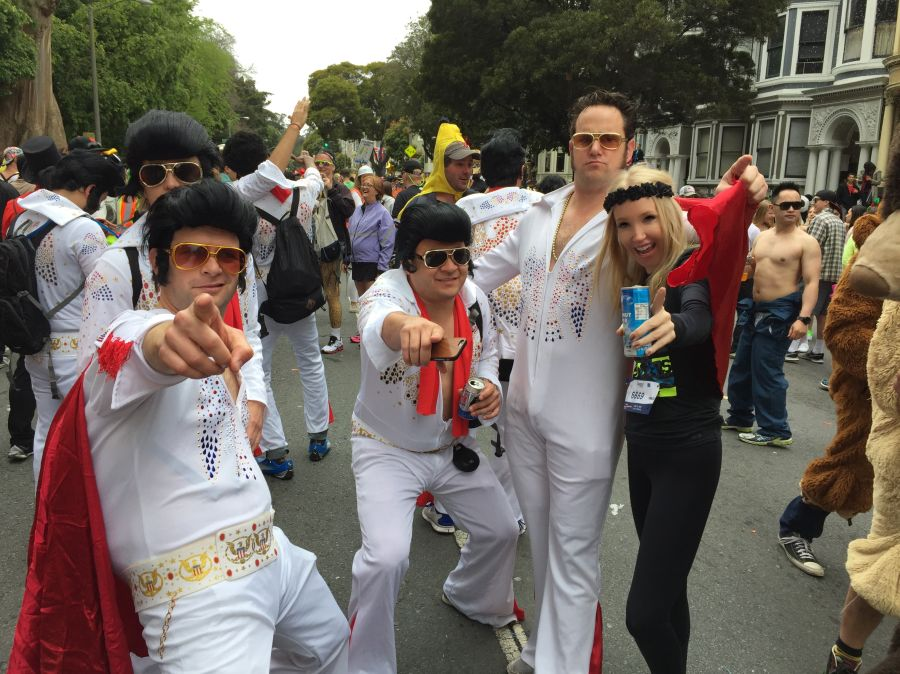 currently crushing 2015 Zappos Bay to Breakers 2XU running tights