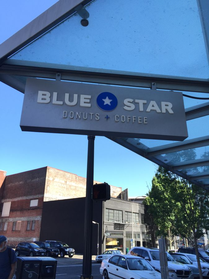 Currently crushing, blue star donuts portland oregon