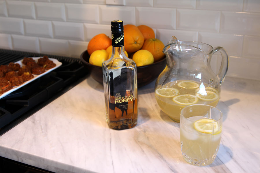 currently crushing, wild turkey american honey bourbon, honey bourbon recipe
