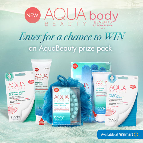currently crushing paris presents aqua beauty at Walmart giveaway coupon