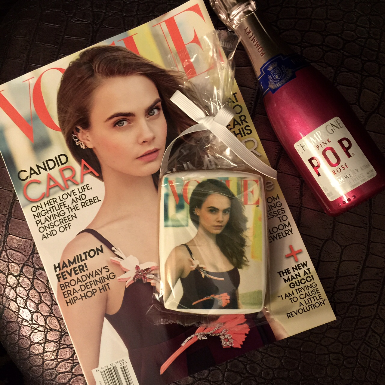 Cara Delevigne July Vogue, currently crushing, cara delevigne vogue cover cookie