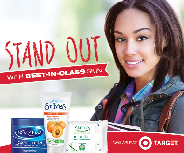 currently crushing, back to school skincare, unilever target coupon