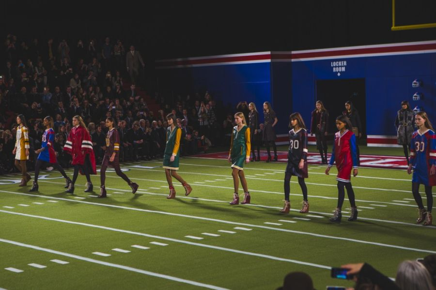 currently crushing, tommy hilfiger AW 15 NYFW