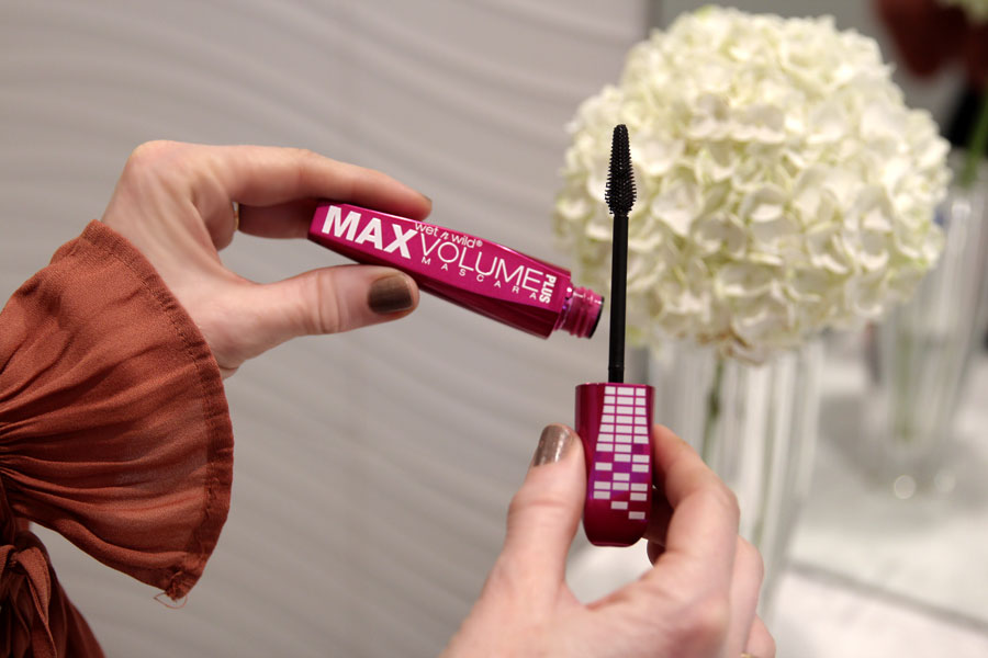 currently crushing, wet n wild max volume mascara