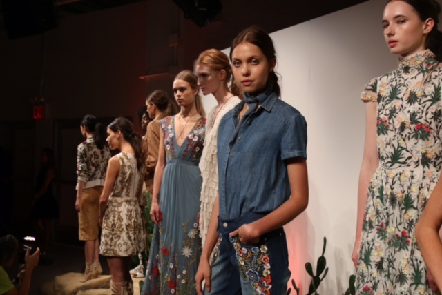 alice and olivia spring 16 NYFW, currently crushing