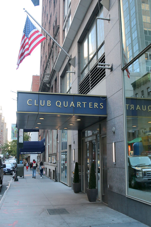currently crushing, hotel boutique grand central, club quarters nyc