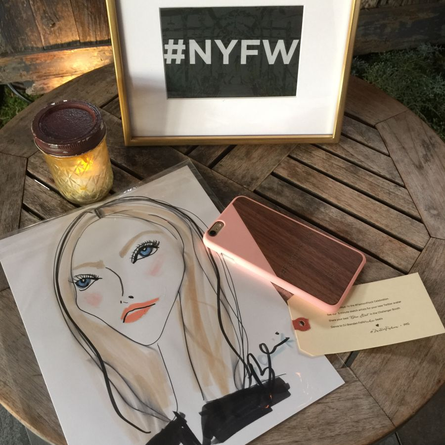 currently crushing, nyfw, img twitter party with blair breitenstein
