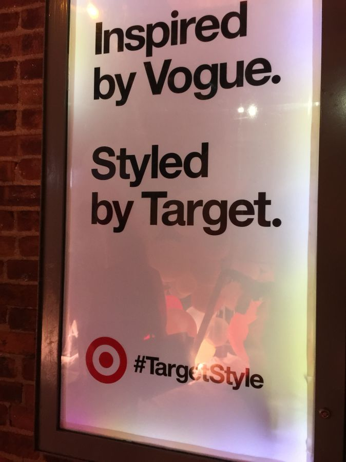 currently crushing, vogue x targetstyle nyfw party