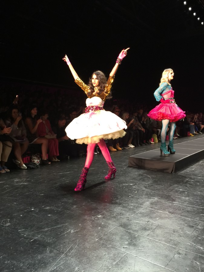 betsey johnson spring summer 2016 nyfw, currently crushing