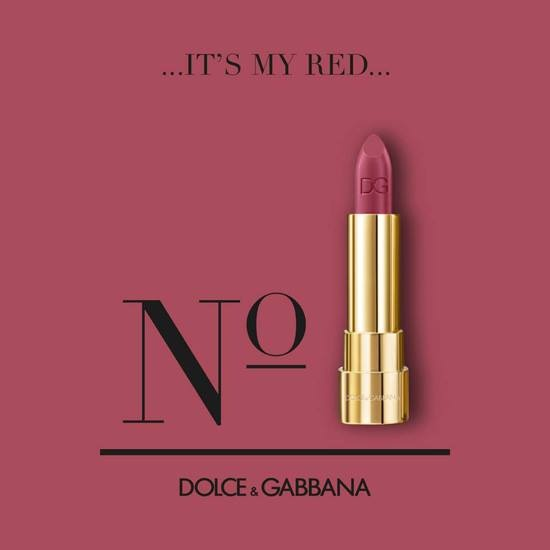 currently crushing, sophia loren lipstick dolce and gabbana