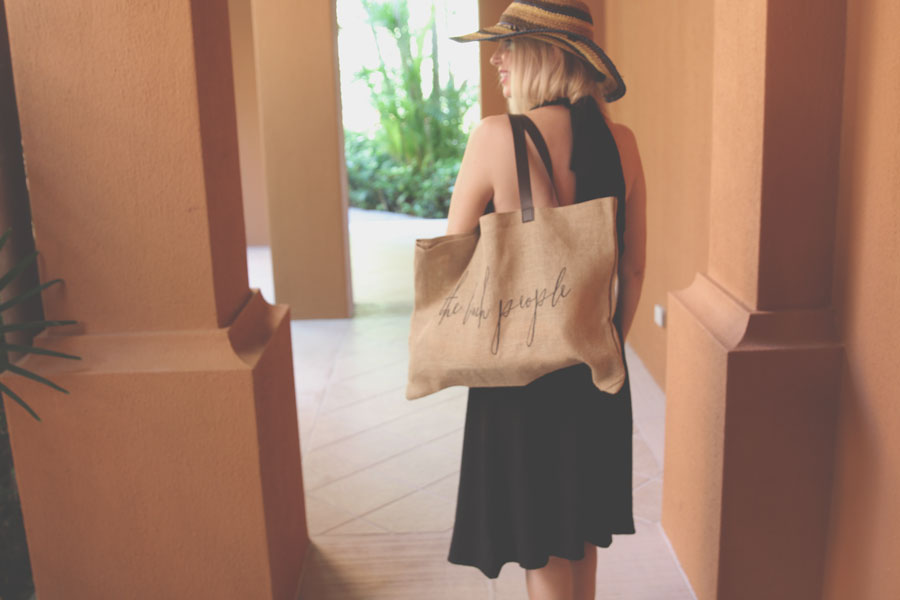 Peter Grimm straw hat, peter grimm christi hat, pandora rings, the beach people tote, otis and maclain dress, currently crushing
