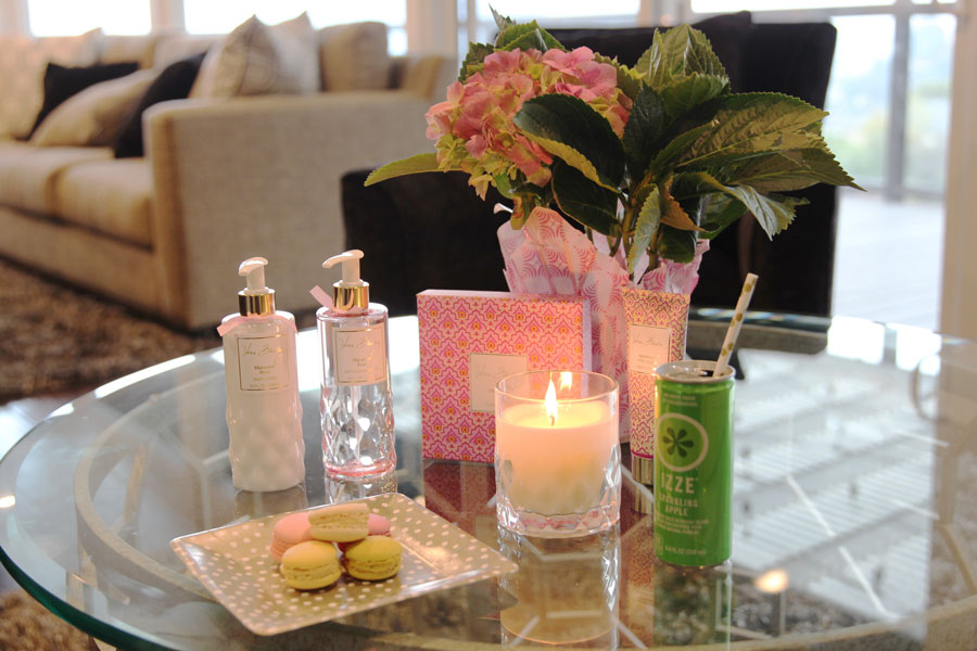 vera bradley fragrance, vera bradley, vera bradley candles, vera bradley brunch, currently crushing, mimosa bar