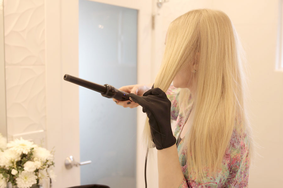 currently crushing, theorie curling wand, bollare, beachy waves, how to get beachy waves, beach hair