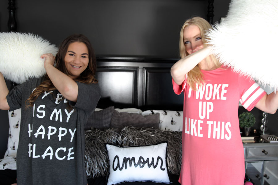 currently crushing, boohoo.com, boohoo, loungewear, boohoo pajamas, i woke up like this tee shirt sleepshirt nightgown