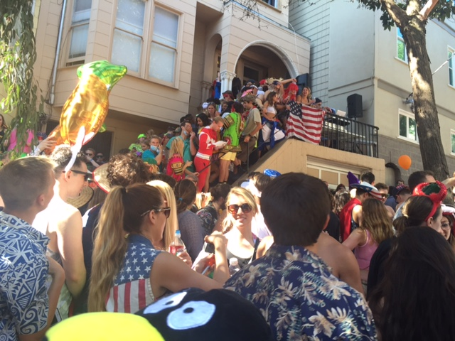 currently crushing 2016 zappos bay to breakers race