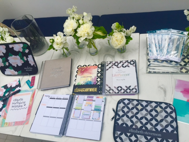 currently crushing, erin condren planners, au fudge west hollywood, bollare pr erin condren planner