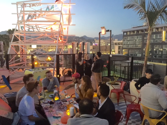 currently crushing, american made supply company, mama shelter rooftop hollywood, pivotal PR AMSCO event