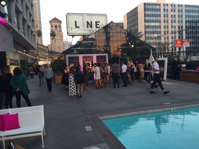currently crushing, maybelline beauty bash, maybelline party with Gigi Hadid, Gigi Hadid maybelline party LA, the line hotel LA