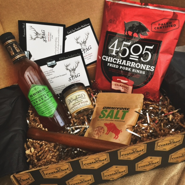 gourmet subscription box, crate chef subscription box, stag dining san francisco, best foodie subscription box, best gifts for foodies, currently crushing