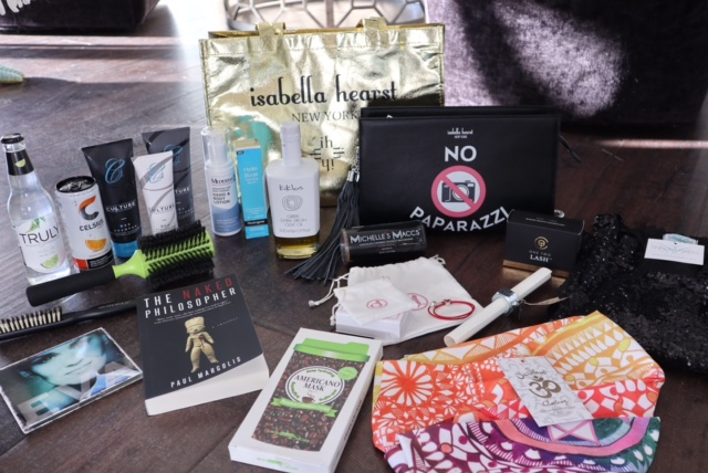 madison and mulholland award season gift bag, acadamy awards gift bags, oscar gift bags, 2017 oscar nominees gift bags, currently crushing, red carpet celebrity gift bags