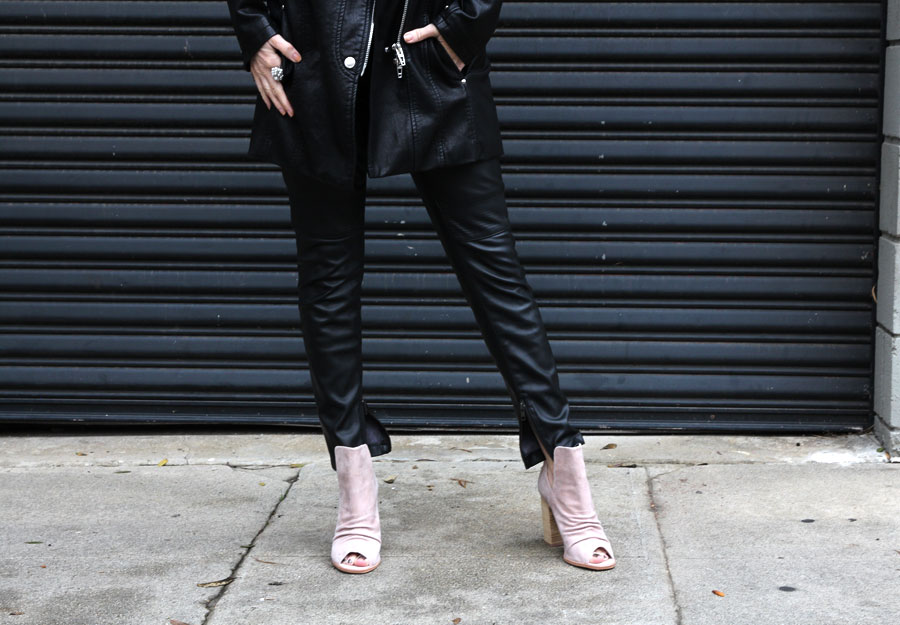 blanknyc vegan leather jacket, sunday somewhere sunglasses, kristin cavallari chinese laundry booties, currently crushing