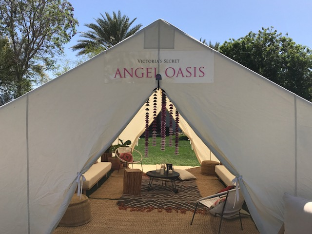 Victorias Secret Angel Oasis at Coachella