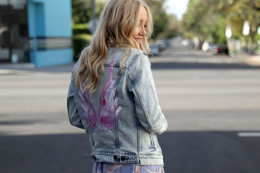 bed stu platforms, bishop and young laguna dress, levis acid wash denim jacket VS angels oasis coachella