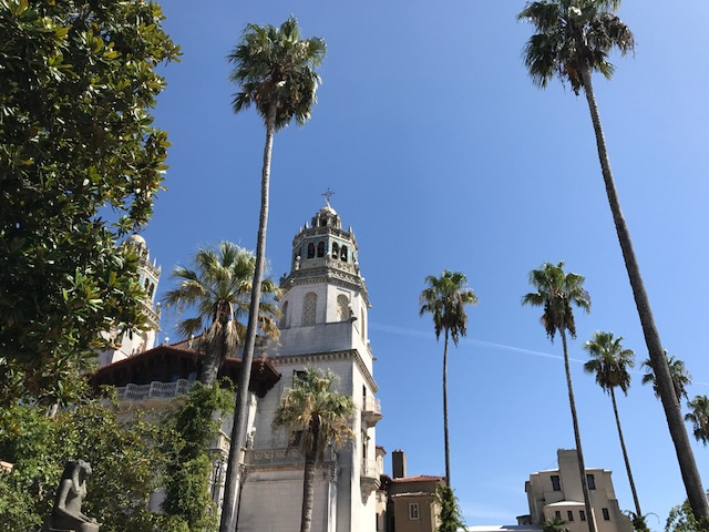 currently crushing, hearst castle tour, san simeon travel,
