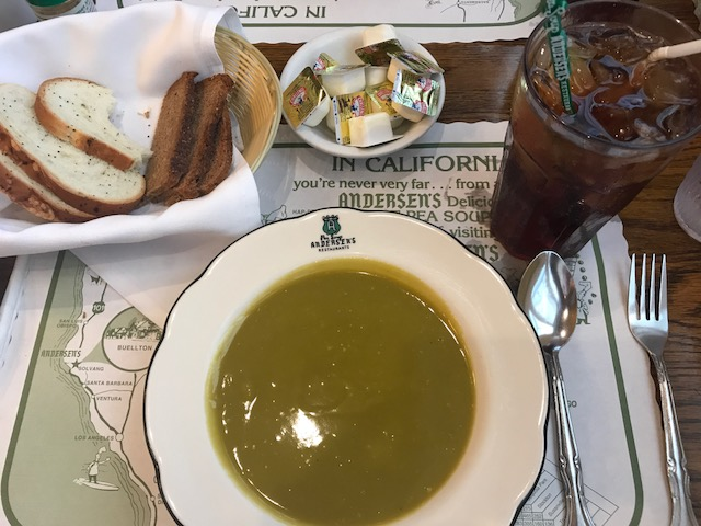 currently crushing, pea soup andersens buellton, solvang travel