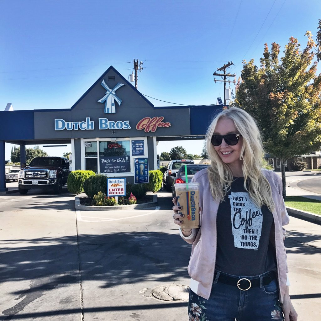 currently crushing, portland travel, food and travel pacific north west, dutch bros coffee