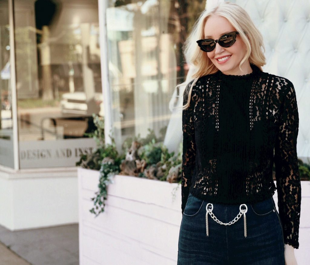 why you need a lace blouse