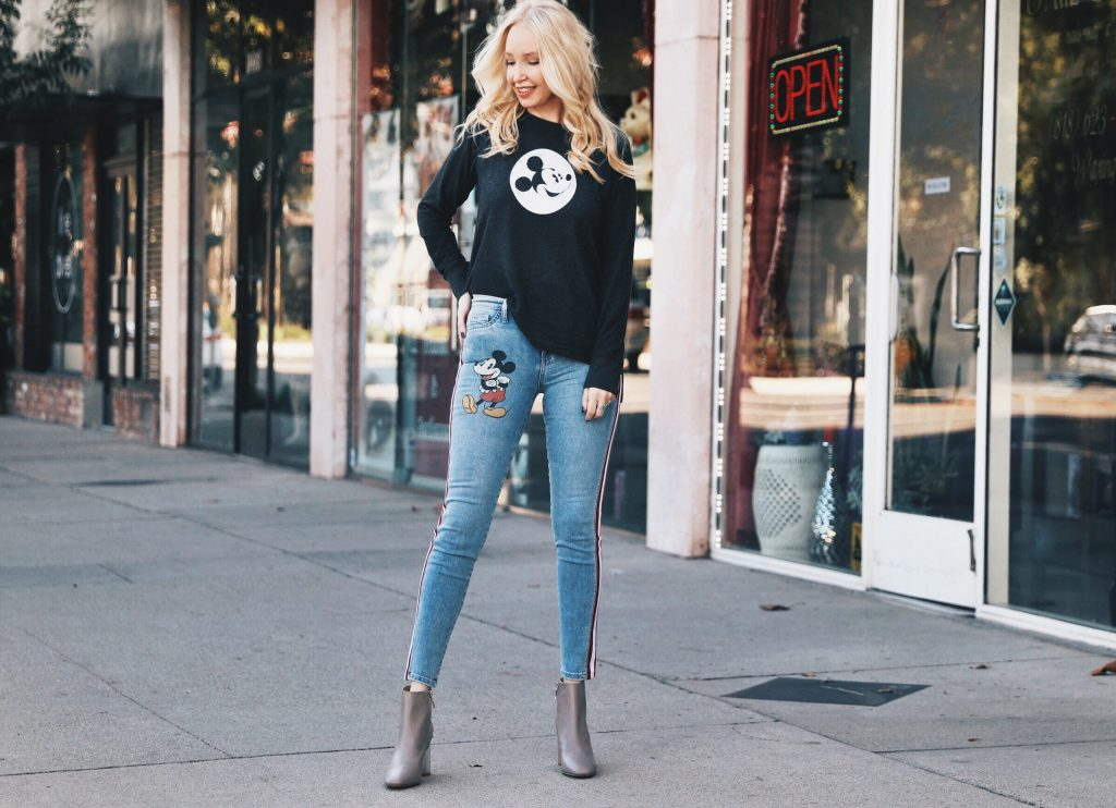 Siwy Denim, mickey mouse jeans, disney jeans and sweatshirts, shop disney, mickey mouse denim, currently crushing