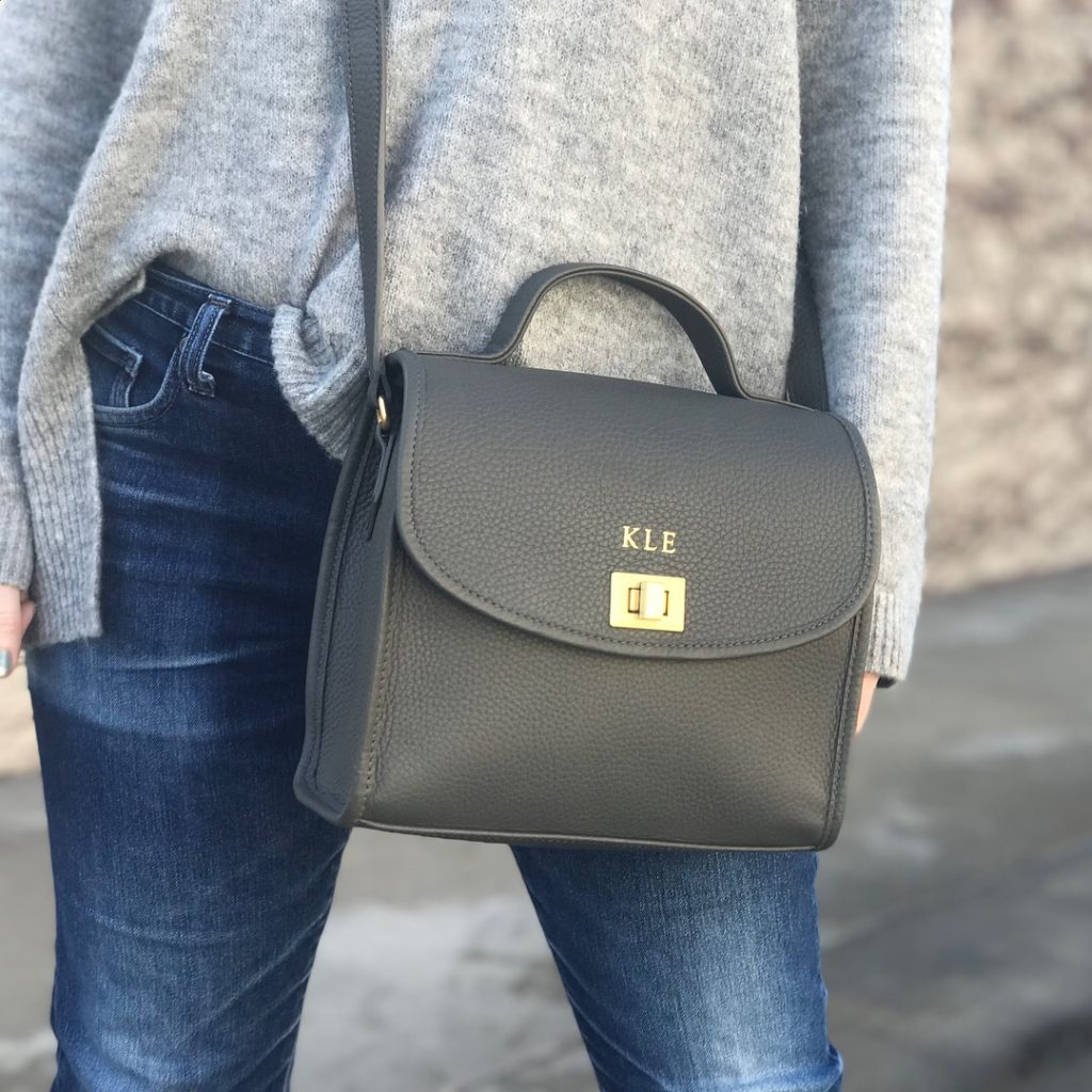 GiGi New York Monogrammed Bag