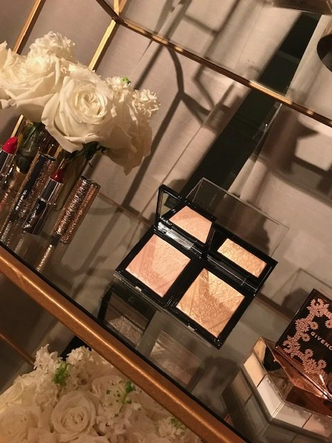 currently crushing, givenchy beauty holiday party LA