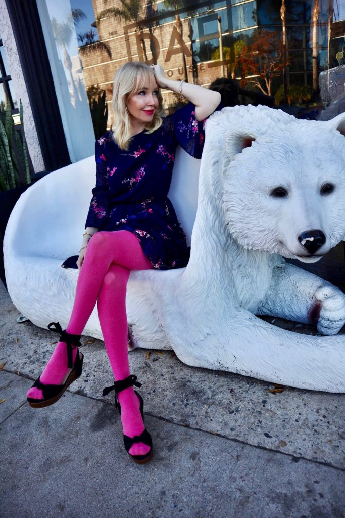 currently crushing, colorful tights, shopbop tights, legwear, eliza j dresses on sale