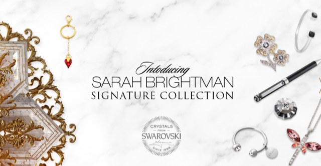 currently crushing, sarah brightman Hymn concert, sarah brightman swarovski jewelry, sarah brightman tour LA, sarah brightman jewelry