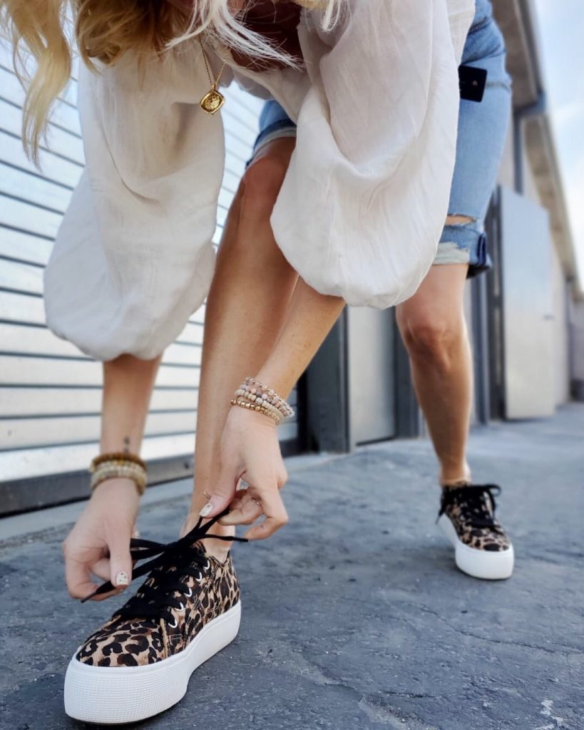 currently crushing, steve madden leopard sneakers, nordstrom steve madden shoes sales